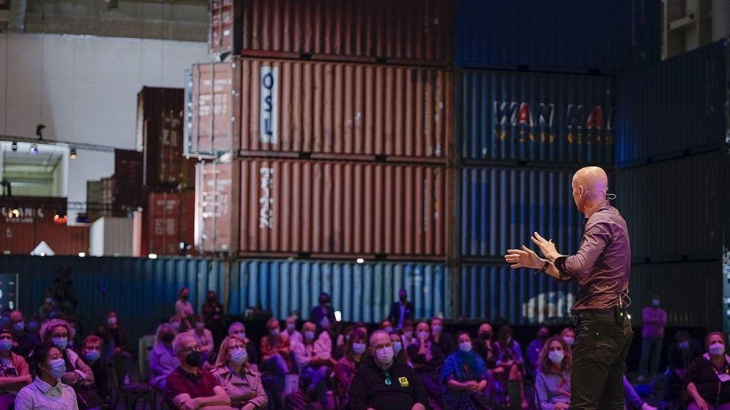 Jimmy Nelson war ein Keynote-Speaker auf der PHOTOPIA. (c) Hamburg Messe und Congress / René Zieger