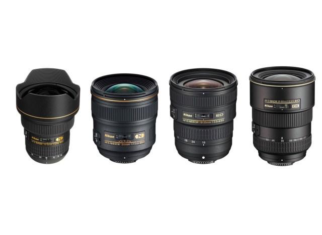 Nikon Geniş Açı Lensler