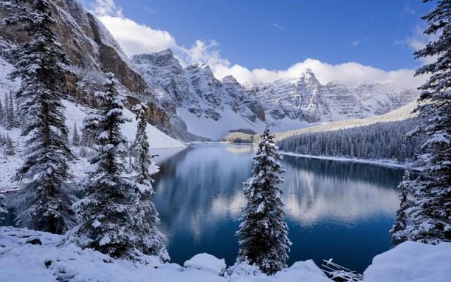 kar fotoğrafları manzara