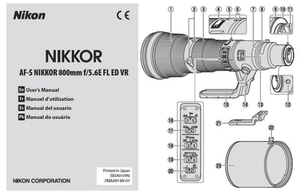 Nikon_800mm_f5.6_Lens_User_Manual