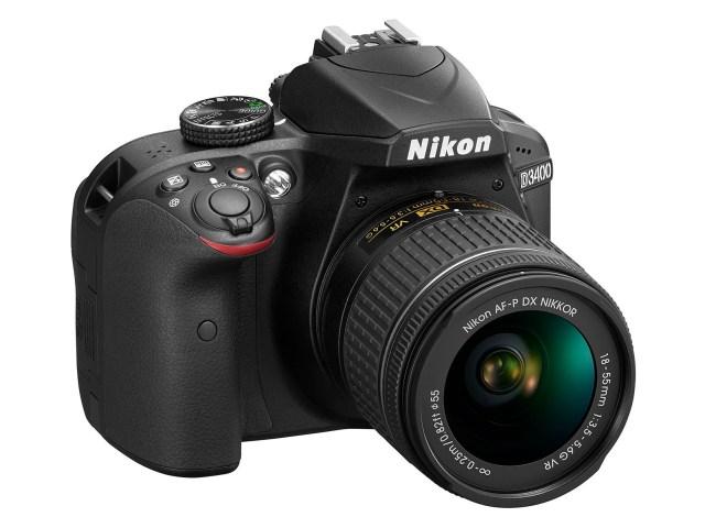 Nikon D3400 DSLR Fotoğraf Makinesi