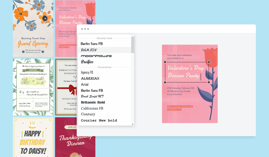 how to make invitations online for free