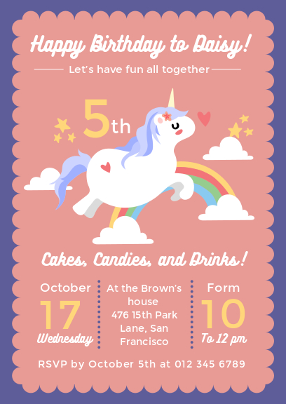 party invitations for your big events