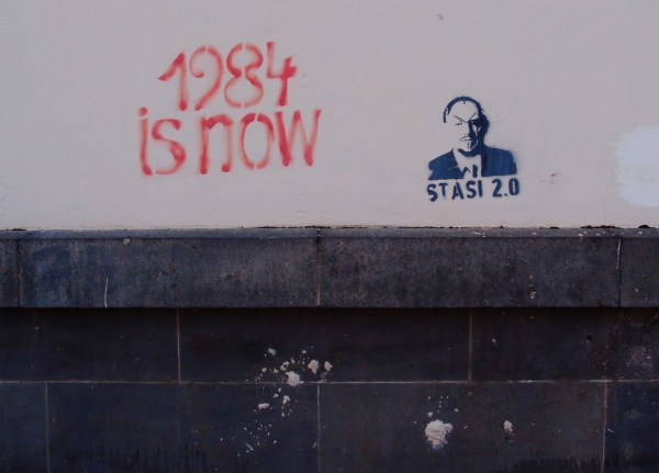 Stasi 2.0: 1984 is now