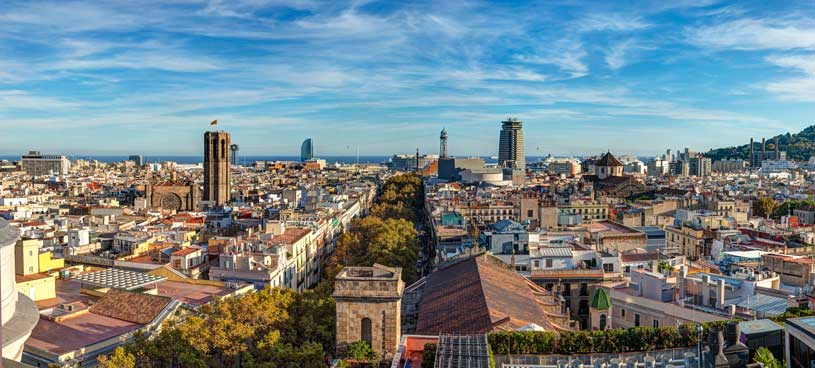 vista-barcelona-ramblas-hotel-meridien