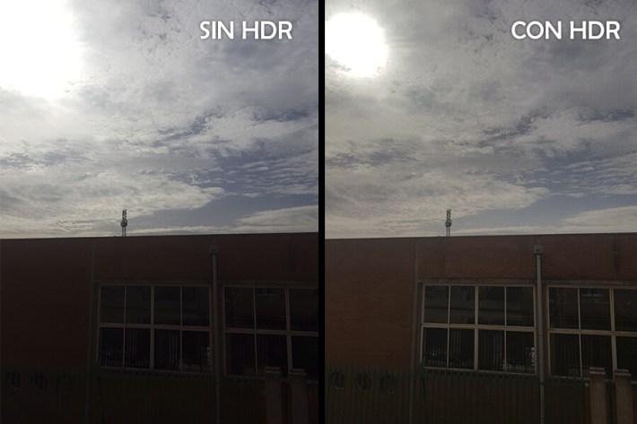Diferencia de usar HDR o no - Fotosistema Vélez