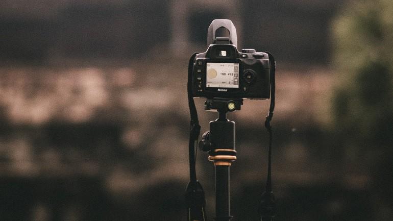 Einbeinstativ Kamera