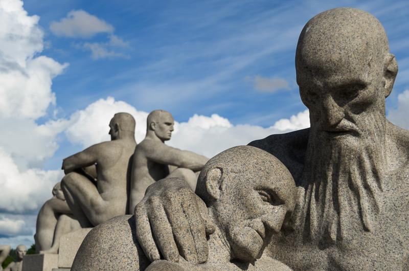 Vigeland Skulptur