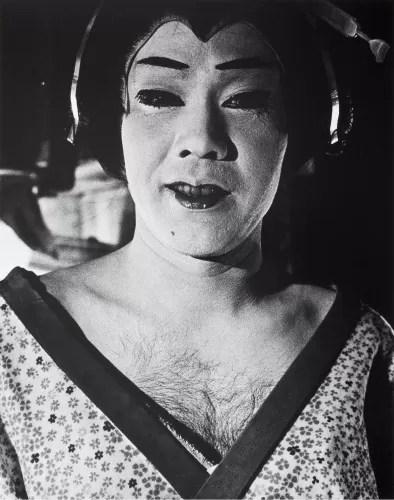 Daido Moriyama Male Geisha