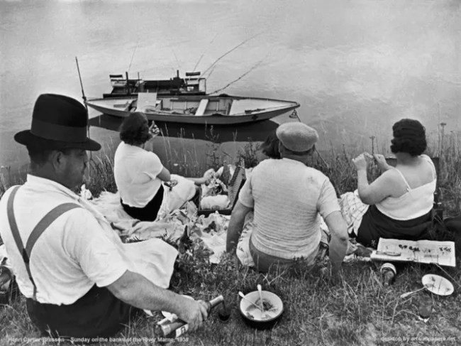 Henri Cartier Bresson - Sunday