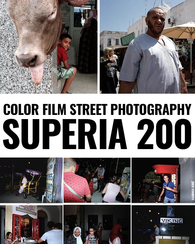 Color Film Street Photography: Superia 200 - Street Photography
