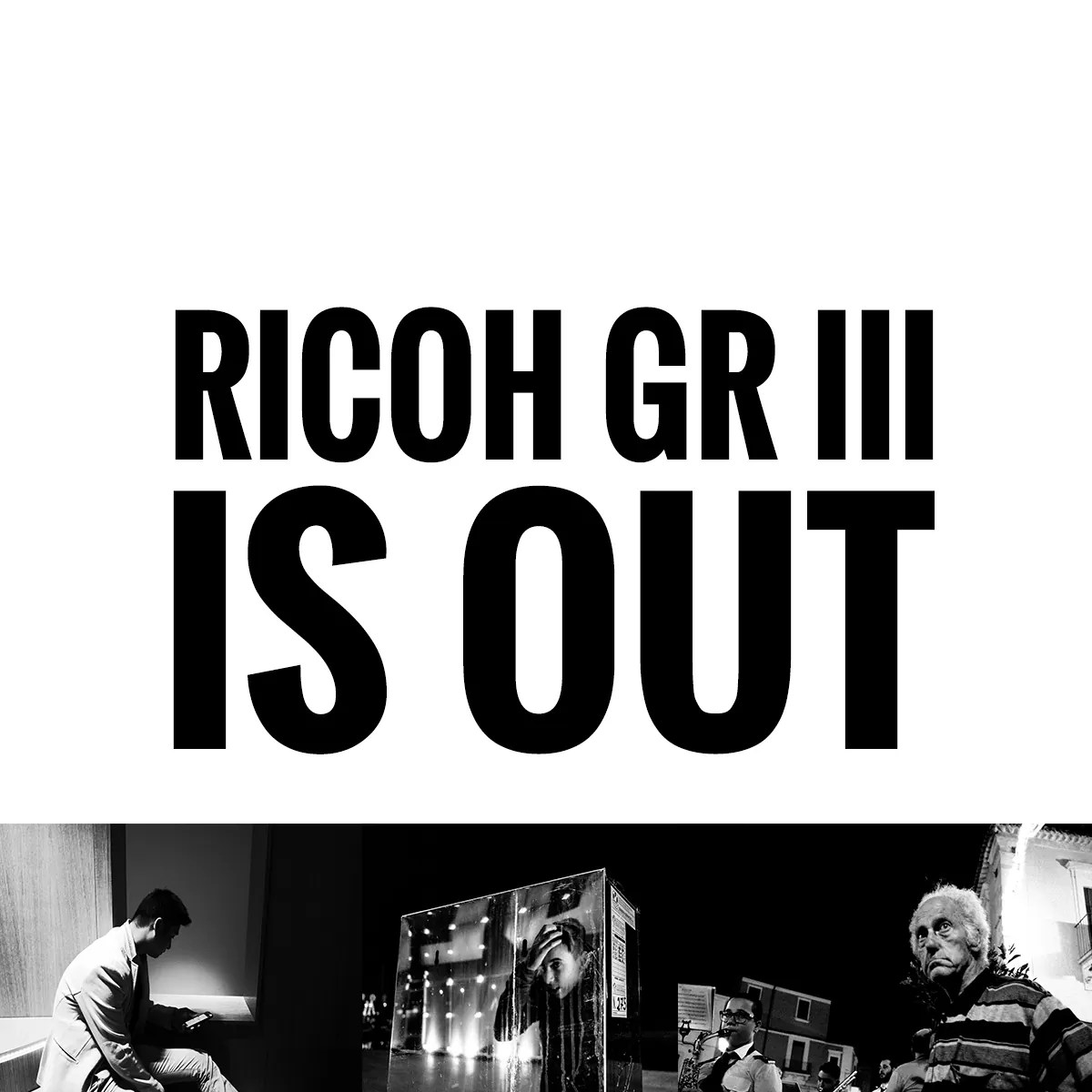 RICOH GR III is OUT!