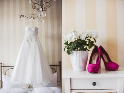 Getting Ready - von den Vorbereitungen der Braut auf den Hochzeitsfotos.