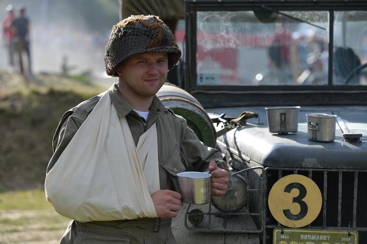 Operacja Południe 2013, Zlot pojazdów militarnych
