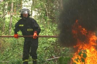 Ćwiczenia Straży Pożarnej