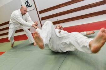 Fotografia sportowa: trening Aikido