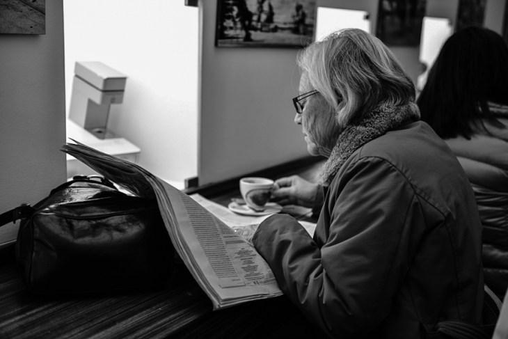 Włochy, Triest - kawiarnia / Italy - Trieste, cafe