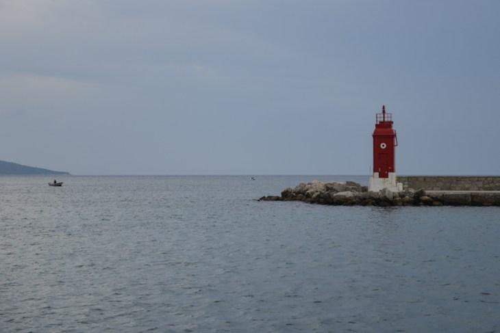 Croatia / Chorwacja, Krk, beacon / latarnia morska