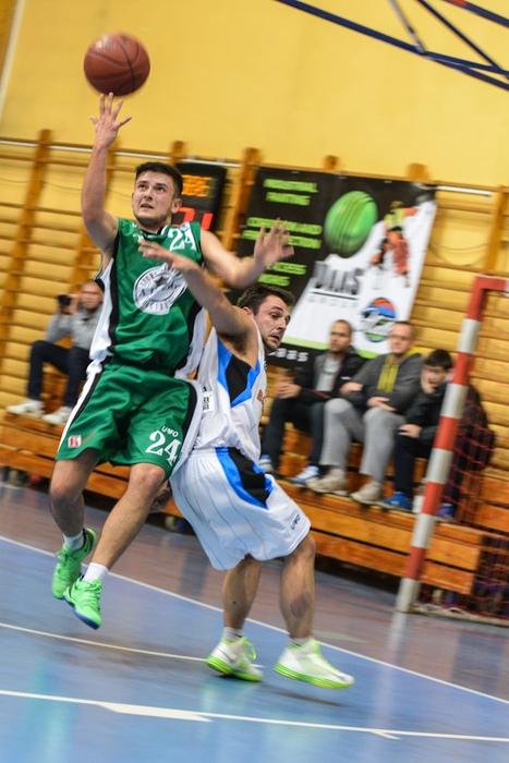 Koszykówka: DAAS Basket Hills Bielsko-Biała: AZS Racibórz