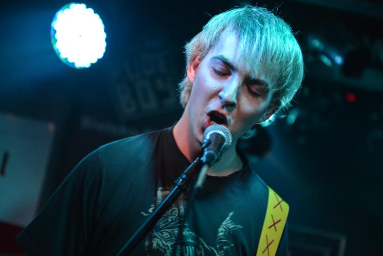 Fotografia koncertowa: zespół Codegen w Bielsku-Białej