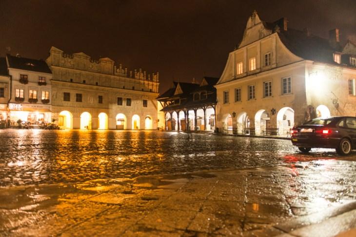 Kazimierz Dolny nadWisłą, Rynek nocą