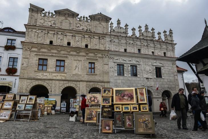 Kazimierz Dolny nadWisłą, Rynek, kamienice Przybyłów