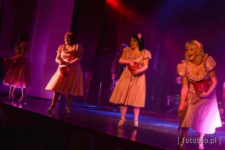 lek. med. Grażyna Milerska, Irena Jurczak, Anna Grygierek oraz Beata Macura jako zespół The Chordettes