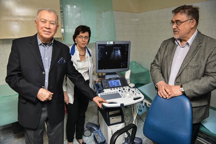 Bielskiemu Centrum Onkologii prezkazano nowy ultrasonograf USG