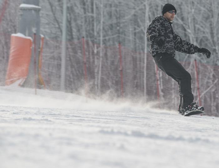 fotografia snowboardu nastoku wBielsku-Białej