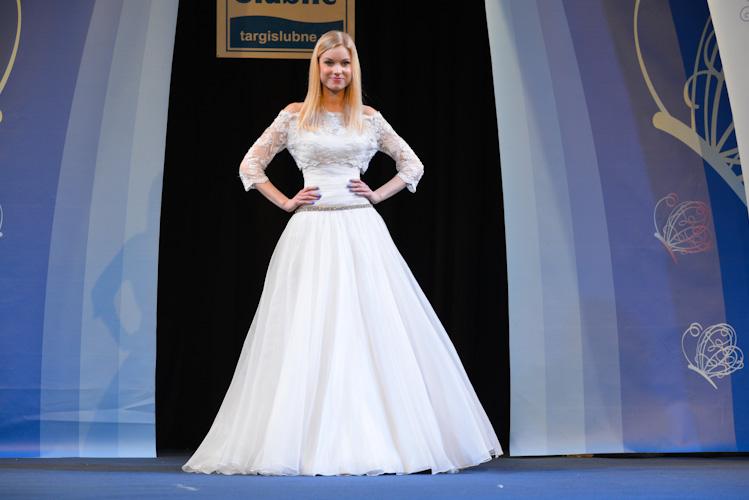 Modelka z Grabowska Models podczas Targów Ślubnych w Bielsku-Białej