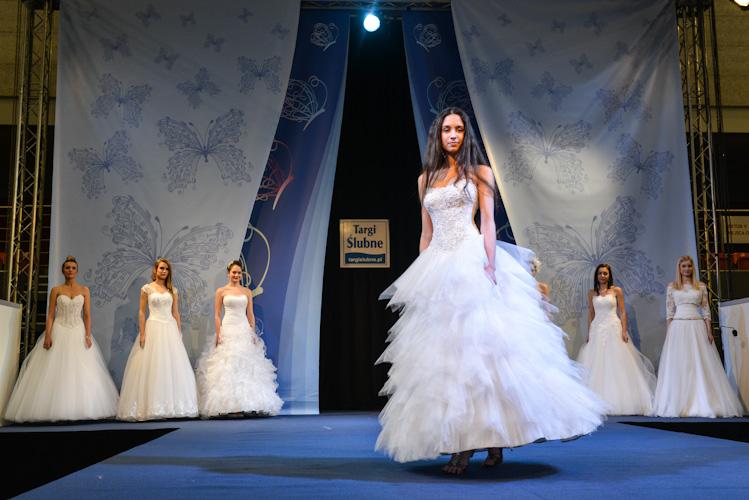 Pokaz mody ślubnej na targach w Bielsku-Białej, Grabowska Models