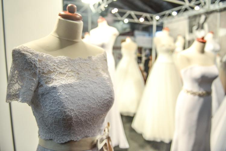 Piękne suknie ślubne, fotografia