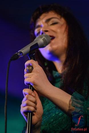 Elina Duni podczas koncertu na Lotos Jazz Festival