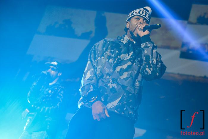 Method Man & Redman on the stage