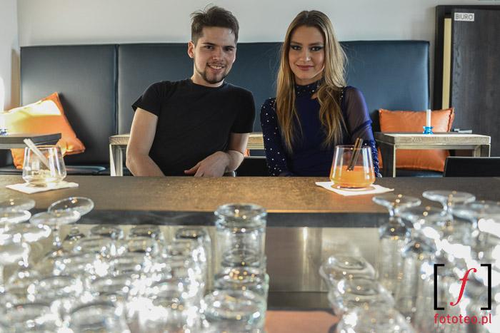 Tomasz Madzia i Katarzyna Kwaśny