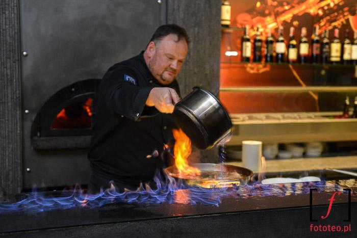 Pokaz kulinarny w Dworek New Restaurant w Bielsku-Białej