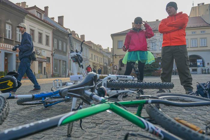 Przygotowania do startu w Bielsku