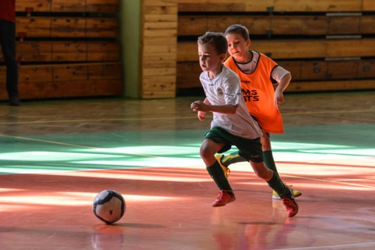 Turniej piłki nożnej halowej wBielsku-Białej