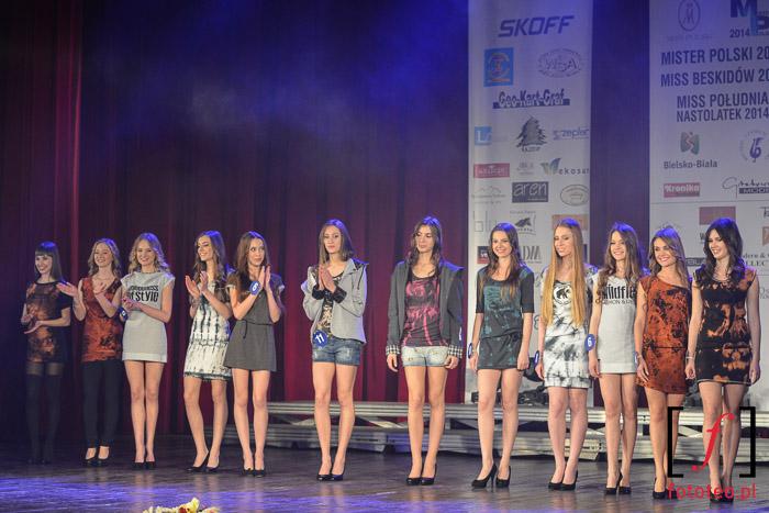 Wybory Mister Polski, Miss nastolatek Poludnia, Miss Polski Beskidow 2014