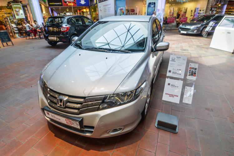 Wystawa motoryzacyjna Motosfera w Bielsku-Białej Honda