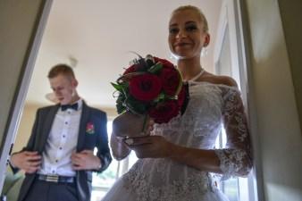 Agata i Damian przed swoim ślubem w Bielsku