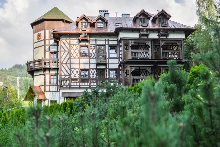 Hotel w Beskidach, fotograficzne usługi