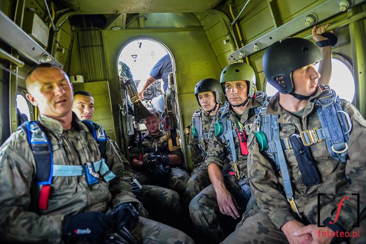 Wnetrze samolotu an-2