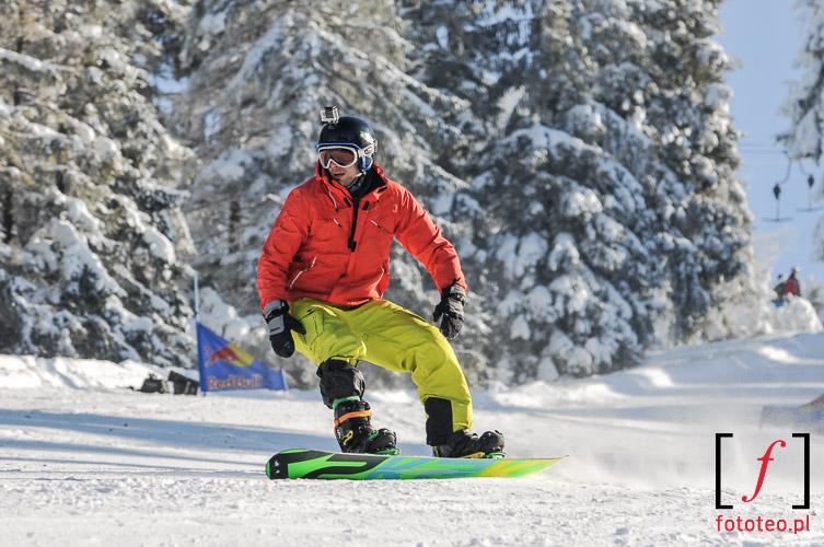 Snowboard in Szczyrk