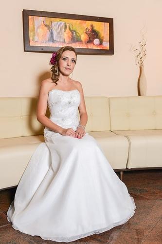 Pani mloda na weselu