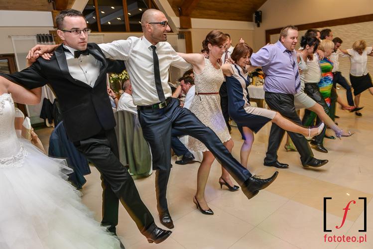 Grek Zorba taniec wesele