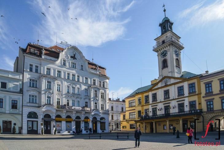 Fotografia Cieszyn- Rynek i Ratusz