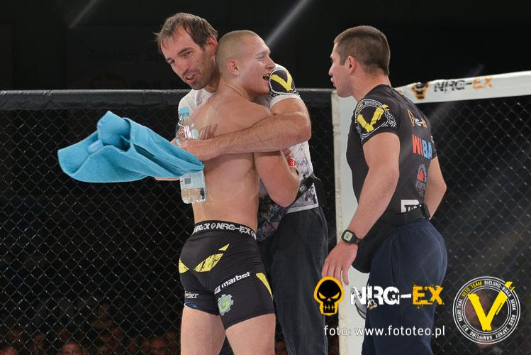 Zawodnik MMA Pawel Zyglinski