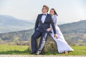 Fotograficzny plener ślubny Radziechowy koło Żywca