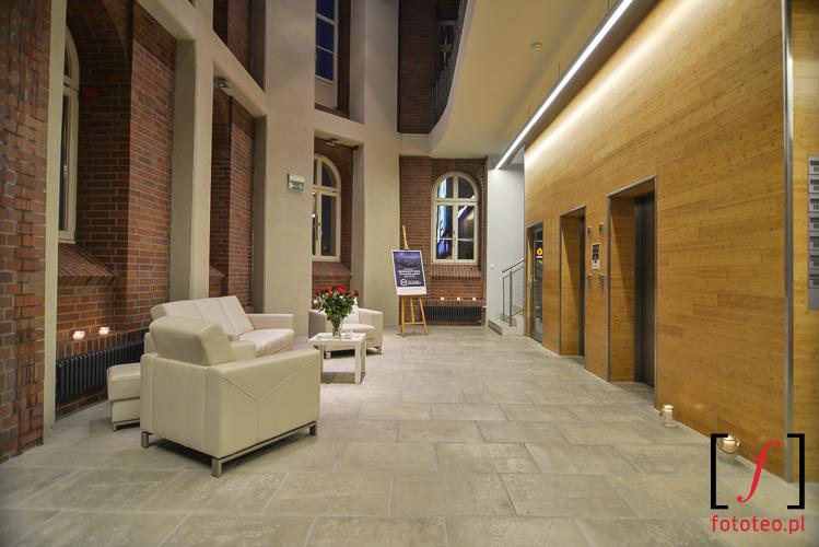 Lobby luksusowego budynku Bielsko